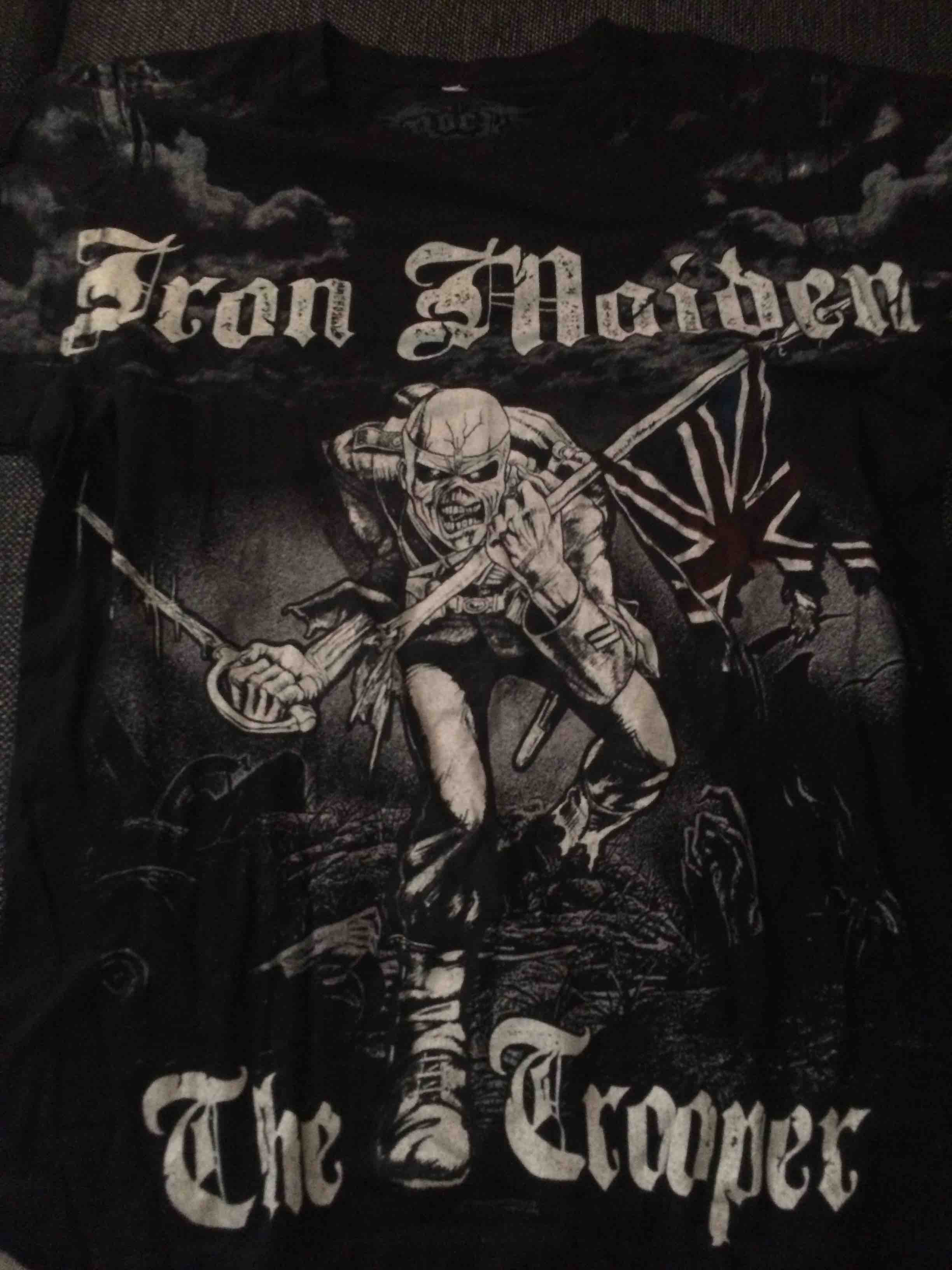 IRON MAIDEN: The Trooper, t-shirt S