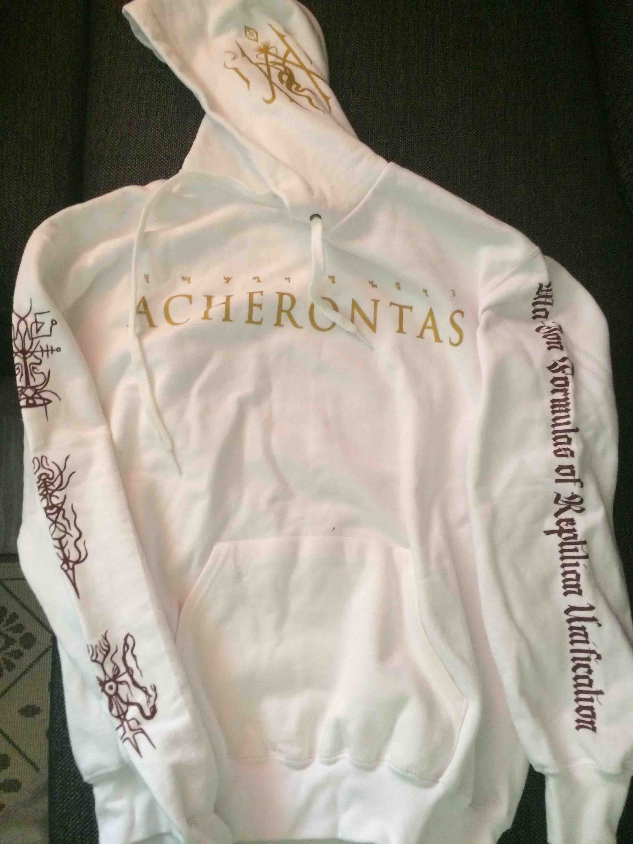 ACHERONTAS: hooded sweatshirt XXL