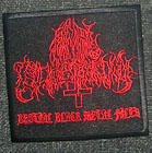 ANAL BLASPHEMY: Bestial Black Metal Filth patch