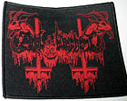 ANAL BLASPHEMY: new logo patch red