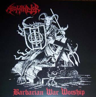 ABOMINATOR: Barbarian War Worship, double Lp