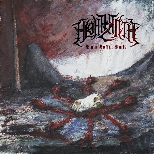 ALGHAZANTH: Eight Coffin Nails, DIGIPACK CD