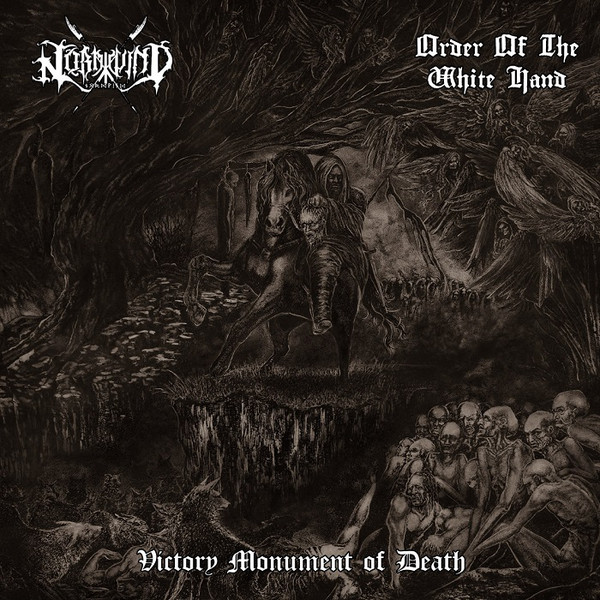 ORDER OF THE WHITE HAND / NORDWIND: Victory... split LP