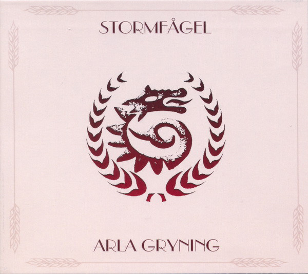 "STORMFÅGEL ""Arla Gryning"" digipak CD"